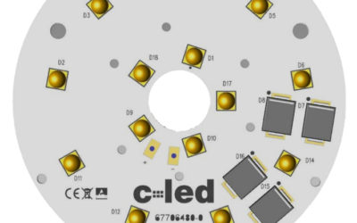 Modulo led circolare diametro 67mm 14 led 24V